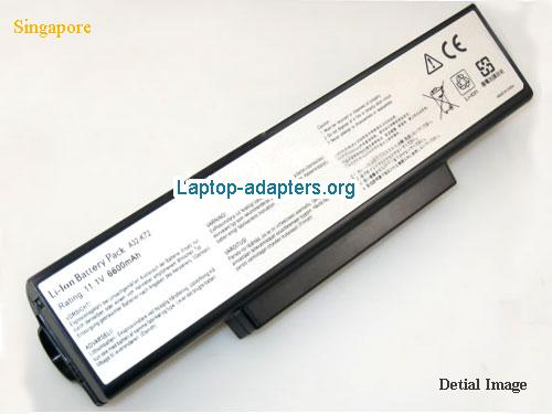 ASUS X72F-XR4 Battery
