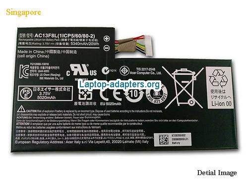 ACER AC13F8L Battery