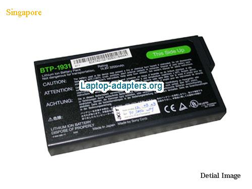 ACER TravelMate 721TX Battery