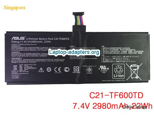ASUS C21-TF600TD Battery