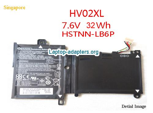 HP hstnn-lb6p Battery