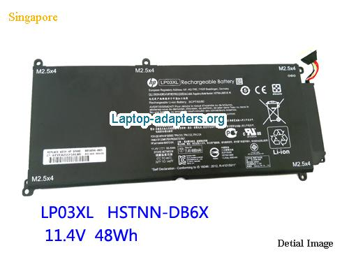 HP HSTNN-DB7C Battery