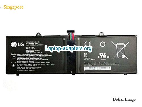 LG LBK722WE Battery